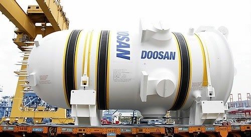 Doosan Heavy Industries & Construction suffers deteriorating profitability due to the factors including the South Korean government's nuclear phase-out policy.