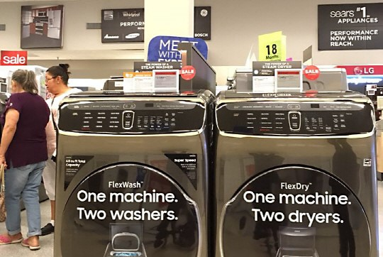The washing machines exported to the U.S. by Samsung Electronics and LG Electronics, which amount to three million units worth US$1 billion in total, are subject to import tariffs without exception.