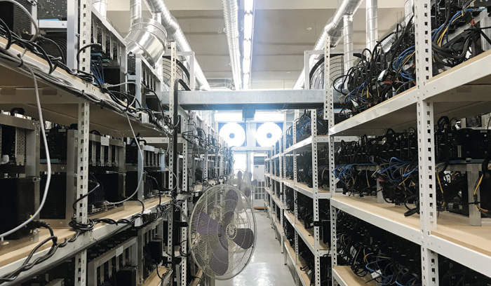 Samsung Electronics' foundry business expects to be a No. 2 in the global market this year, boosted by a rapid increase in demand for semiconductors for cryptocurrency diggers.