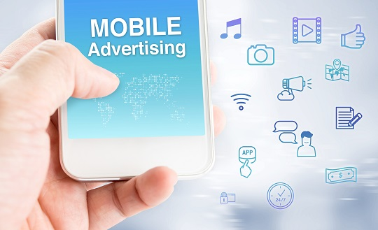 Korea's mobile advertising market expanded 27 percent to 2.22 trillion won (US$2.06 billion) compared to the previous year.