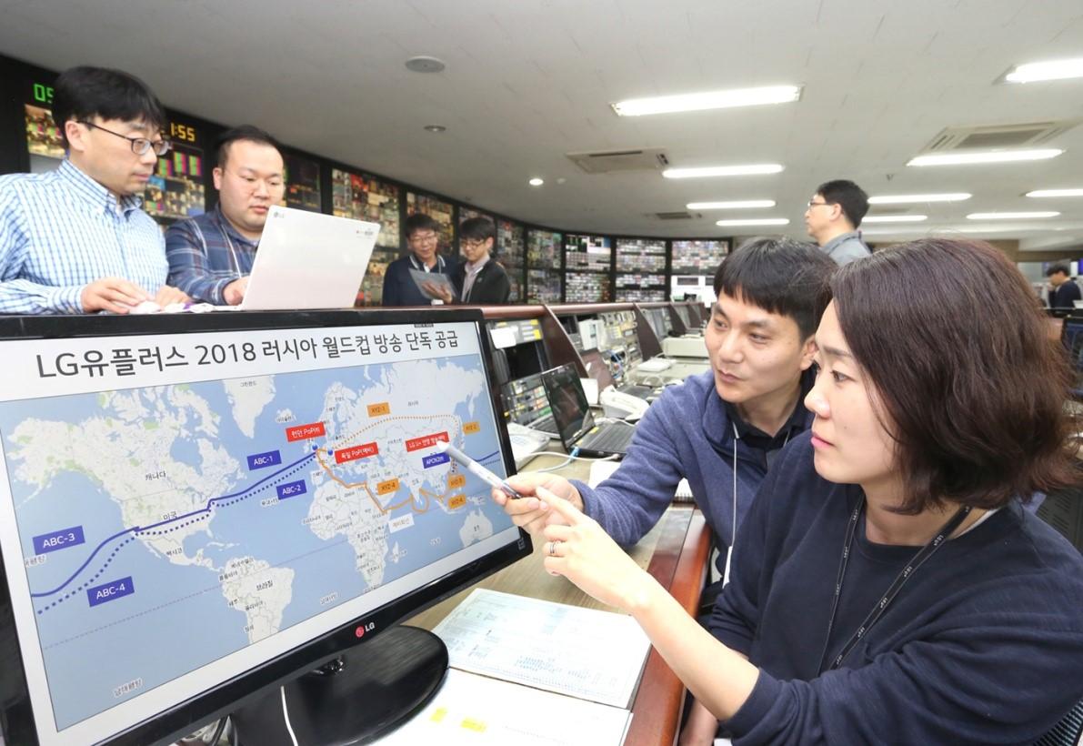 LG U+ to Provide UHD Broadcast Circuits to S  Korea's 3