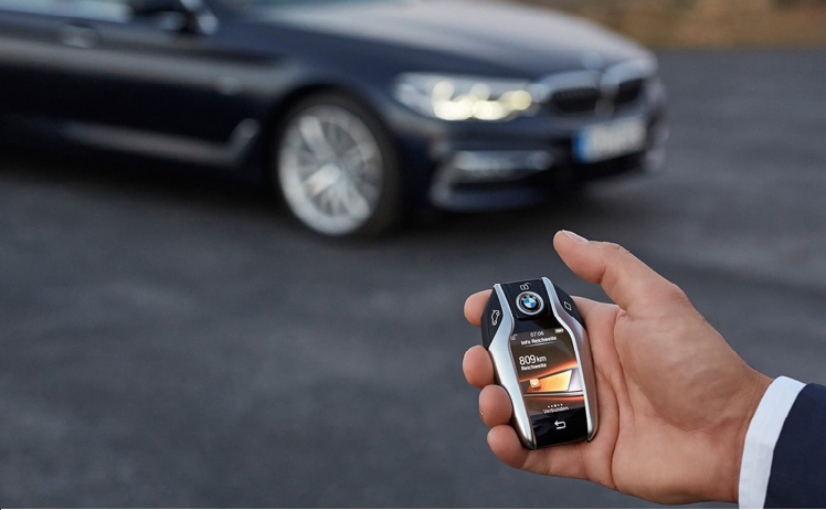 BMW chose Samsung smartphones as the first smartphones for its digital key application.