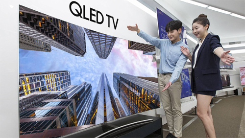 Samsung Electronics is expected to sell the products including new QLED TVs at lower prices.