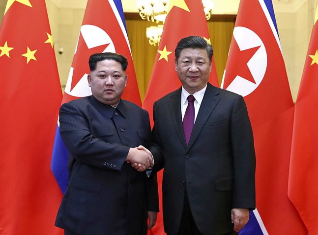 North Korean leader Kim Jong-un and Chinese President Xi Jinping met with each other in China from March 25 to 28, ahead of summit meeting between the two Koreas and that between the U.S. and the North.