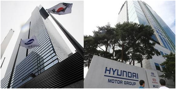 Samsung Group and Hyundai Motor Group are stepping up corporate governance reform efforts.