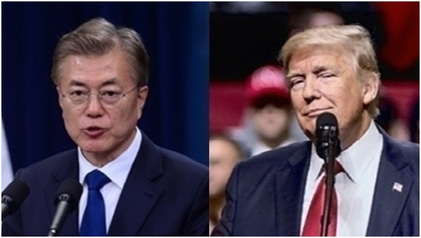 Seoul and Washington are likely to share the result of the inter-Korean summit at the South Korea-U.S. summit to be held next month.