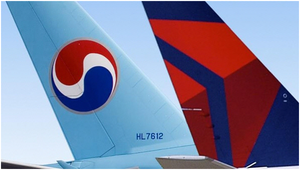 Korean Air canceled a decision to hold a joint press conference on the launch of a joint venture with Delta Air Lines in Seoul on April 24.
