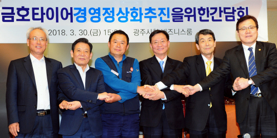The Kumho Tire union took a vote in favor of sale of their company to Qingdao Doublestar.