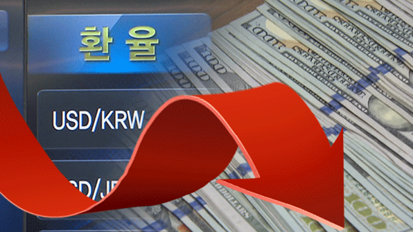 The U.S. government has made pressure on the South Korean government disclosing its forex market intervention history.