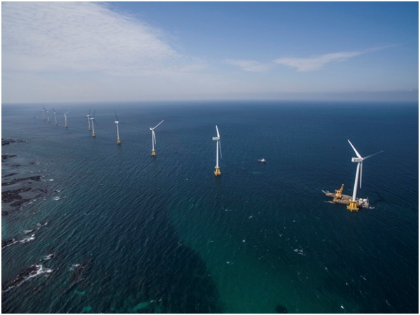 The South Korean government is considering building a wind farm around the Northern Limit Line (NLL) in the Yellow Sea.
