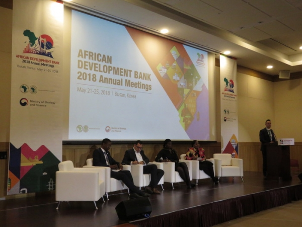 The African Development Bank (AfDB) annual meeting kicked off on the May 21 in Busan.