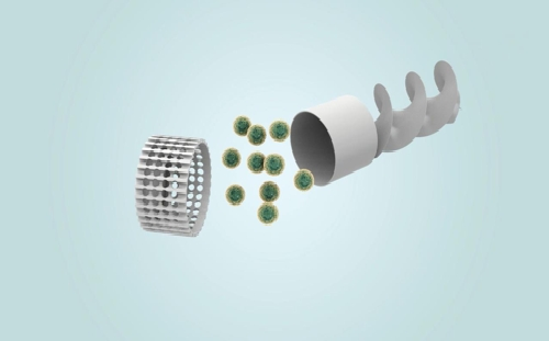 A capsule-type micro-robot developed by DGIST research teams.