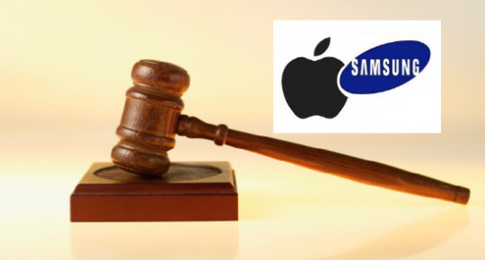 A US jury orders Samsung Electronics to pay compensation to Apple.