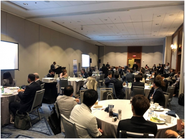 The Redefining Early Stage Investment (RESI), one of the world's largest partnering conferences in the bio start-up sector, was held in Boston, the US, on June 4 (local time).
