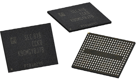 Samsung Electronics will start the world's first mass- production of the fifth-generation (96-layer) V NAND flashes.