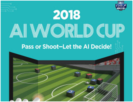 "The 2018 International AI World Cup Match"" will be held for four days from August 20 to 22 at the KAIST main campus in Daejeon."