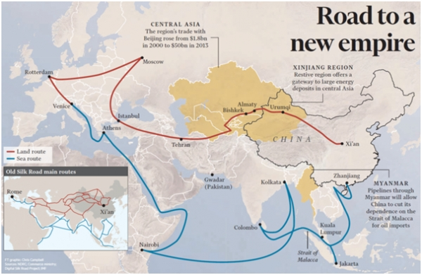 U S To Establish Usidfc To Keep China S One Belt One Road In Check Businesskorea