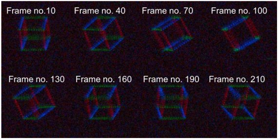 Korean Research Team Develops No-glass 3D Holographic