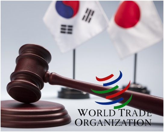The South Korean government filed a suit with the WTO and handle the issue by international and domestic laws.