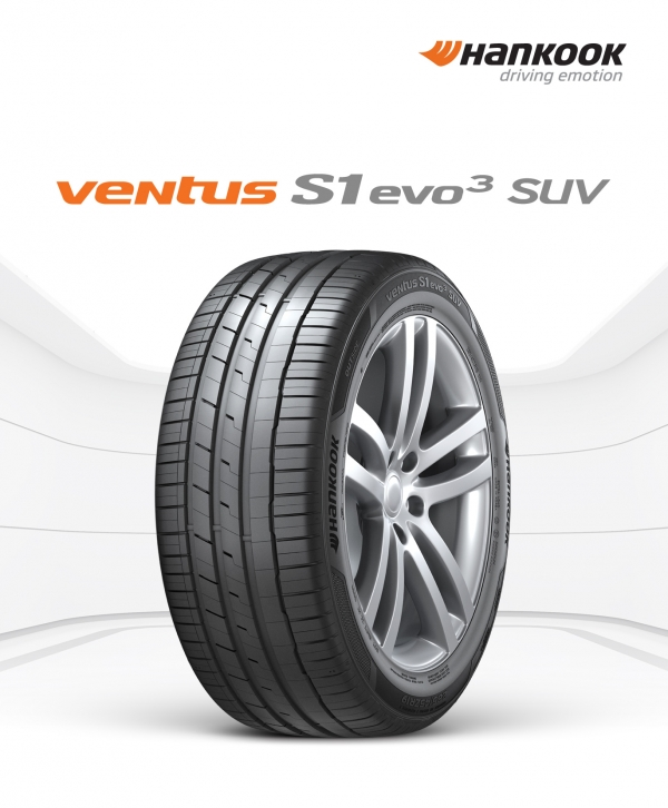 The Ventus S1 Evo 3 SUV that will be supplied for the 3rd-generation Cayenne SUV of Porsche