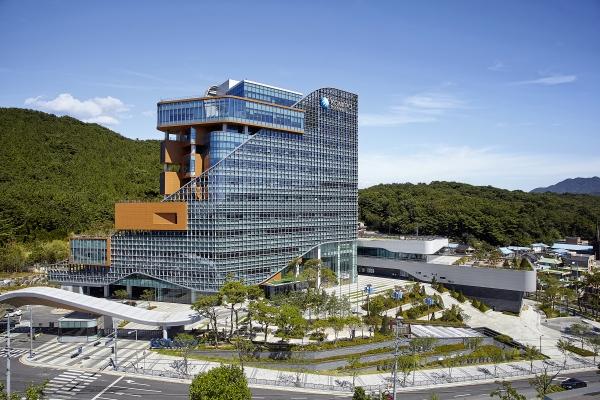 한국중부발전 본사 전경