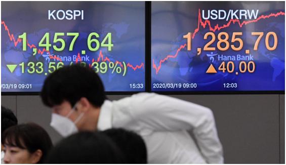 Won Dollar Exchange Rate Surges
