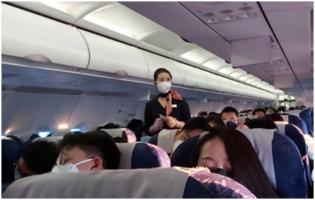 Coronavirus korean flight